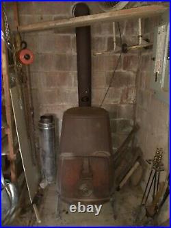 Jotul #4 combifire cast iron Wood Stove