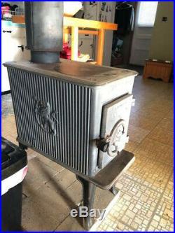 Jotul Cast Iron Wood Stove 602 Good condition