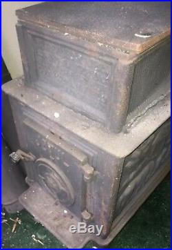Jotul F118 Wood Burning Stove with chimney Used Once No Cleaning Need