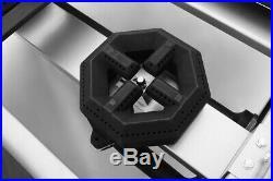 NEW 36 6 Burner Hot Plate Cast Iron Grates Counter Range Atosa ATHP-36-6 #2548