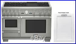 NIB Thermador Dual-Fuel Range + Sapphire Dishwasher PRD48JDSGU / DWHD650JPR