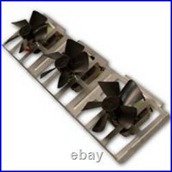 New Fmi Bk3 Triple Fan Manual Blower For Wood Stove Heater Sale 9498064