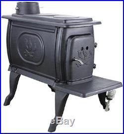 New Us Stove 1269e Heavy Duty 54k Btu 900 Sq Ft Cast Iron Box Wood Stove