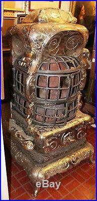 Nickel Cast Iron Stove