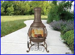 Outdoor Fireplace Patio Wood Burning