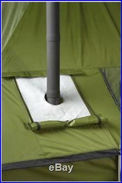 Outside Wood Burning Stove Camp Tent Hunting Galvanized Steel Cast Iron Building