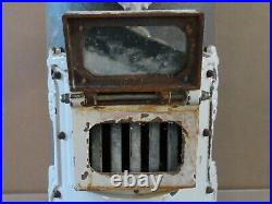 Petit Coal Stove with Heavy Enameled Cast Iron Fittings Thermocet No 75 Nice Condi