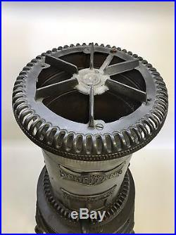 Puritan Cast Iron Oil Heater & Stove Top Cleveland Foundry Co. Oct. 30 1894