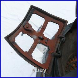 RARE 1879 Union Stove Works NY Baseburner Parlor Stove Restored No 10 Cast Iron