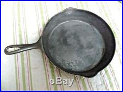 RARE Marion # 8 Cast Iron Skillet Cleaned Seasoned Marion Stove Works Marion IN