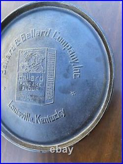 RARE Martin Stove and Range #10 Cast Iron Ballard & Ballard Advertising Griddle