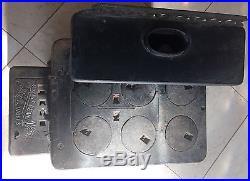 RARE Mt. Penn Stove Works Royal Esther Cast Iron & Nickel Salesman Sample Oven