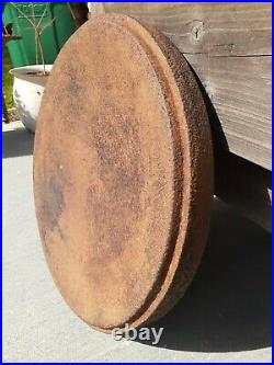 RARE, OLD MARTIN STOVE AND RANGE #16 CAST IRON LID ONLY! FITS A Camp Dutch Oven