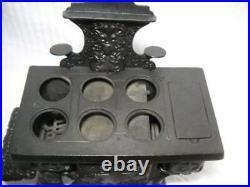 Rare Perfection 6 Burner Salesman Sample Antique Cast Iron Stove Ca. 1912