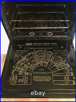 Roper Gas Stove, 6 burner, double oven, double broiler 1956 in good working cond
