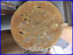 Round Oak DOE-WAH-JACK parlor stove top ANTIQUE cast iron base
