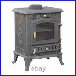 Royal Fire cast iron wood burning stove 8kW 100686