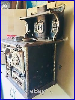 Salesman Sample Quick Meal Cooking Stove