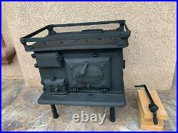Shipmate stove for boats cabins marine vintage Shipmate Stove Company cast iron