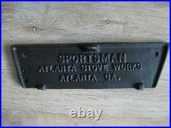 Sportsman Cast Iron Grill Atlanta Stove Works