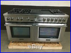 Thermador PRD606RCG 60 Dual Fuel Range Prof. Grand 6 Burners Griddle + Grill