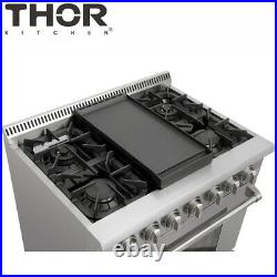 Thor Reversible Griddle Cast Iron Grill Plate Campfire Oven Stove-Top Cooktop US