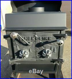 Timberline wood burning heating stove