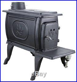 U S Stove 1269E EPA Logwood Stove, Cast Iron