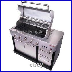 Ultimate Outdoor Kitchen with GRILL, REFRIGERATOR, STOVE, GRIDDLE, GRANITE + more