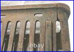 Universal Products Cast Iron Hibachi Footed Cook Grill Stove Warmer Campfire