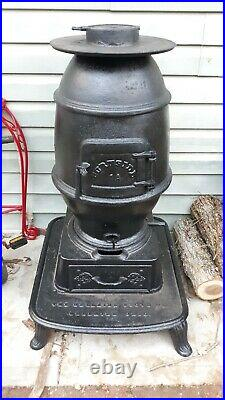Used cast iron wood stoves. Bellaire stove company. 1A