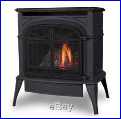 Vermont Castings Intrepid Direct Vent Gas Stove Classic Black Cast Iron NG or LP