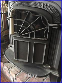 Vermont Castings Wood Stove Intrepid11 Classic BLACK Cast Iron Flex Burn