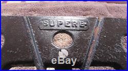 Very Cool Vintage Superb 3 Burner Cast Iron Camp-stove