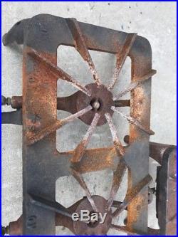 Very Cool Vintage Superb 3 Burner + One Cast Iron Camp-stove
