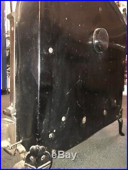 Vintage Antique Cast Iron Gas Heater