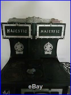 Vintage Antique Cast Iron Stove (The Great Majestic)