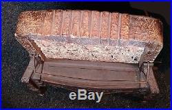 Vintage Antique Royal Cast Iron Gas Heater