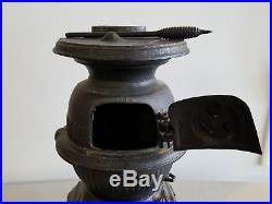 Vintage Antique Spark Cast Iron Salesman Sample Pot Belly Stove
