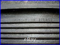 Vintage BSR Birmingham Stove & Range Sportsman Cover Griddle 3093