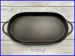 Vintage Birmingham Stove & Range BSR Oval Fish Fryer Cast Iron 3052 D