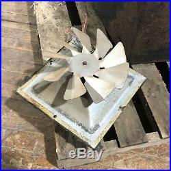 Vintage Buck Model 27000 Cast Iron Wood Stove Heat 2 Door Grate Inside CAN SHIP