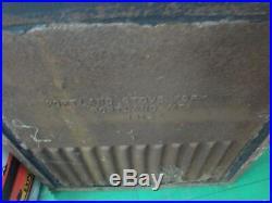 Vintage Cast Iron Fireplace Insert Portland Stove Foundry Portland Maine # 1812a
