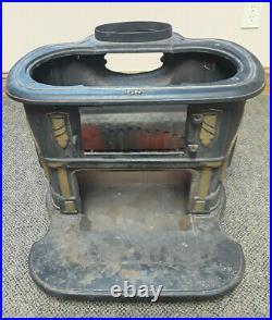 Vintage Cast Iron Parlor Stove Franklin 188