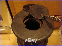 Vintage Cast Iron Union No. 211 Pot Belly Stove Pick Up Only Long Island N Y