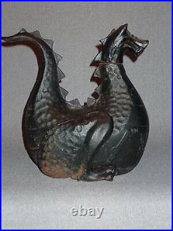 Vintage Cast Iron Wood Stove Dragon Humidifier © Gates General Puff the Magic