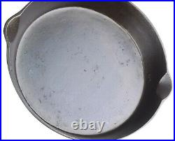 Vintage Griswold WJ Loth Stove No 10 Cast Iron Skillet Restored Condition