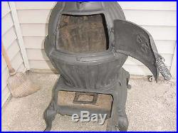 Vintage VARIETY # 118 pot belly cast iron wood burner Cook stove