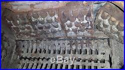 Vintage Wood Burning Cook Stove Cast Iron- Wonderful Condition