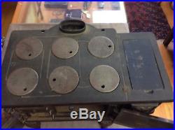 Vintage miniature cast iron stove